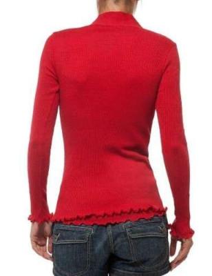Gilet Moretta laine et soie boutonné