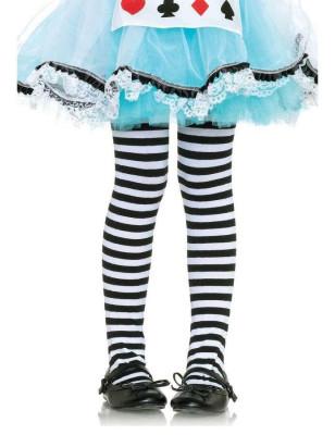Collant enfant Rayures bicolore Leg Avenue