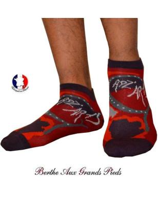 Socquette Bouclette Homme Berthe aux grands pieds cadzarts