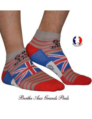 Socquette Bouclette Berthe aux grands pieds God save