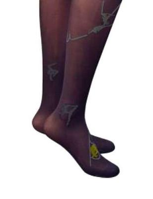 Collant Acrobates Berthe aux grands pieds prune