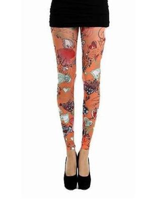 Legging Pamela Mann doodle hearths