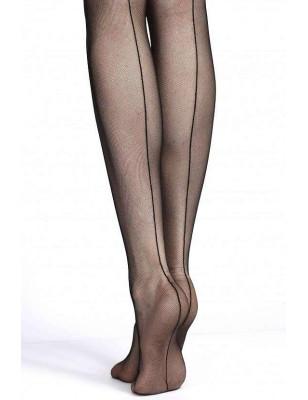 Bas JArretière Tulle couture Clio