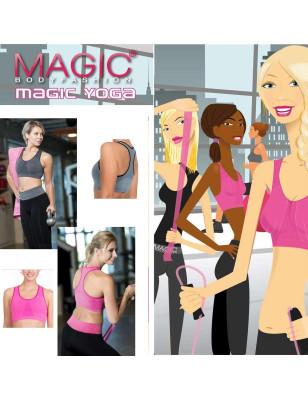 Brassière de Yoga Magic bodyfashion rose av