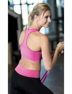 Brassière de Yoga Magic bodyfashion rose ar