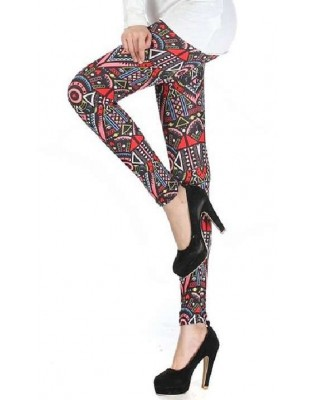 Leggings Lycra Imprimé juke box stylisé