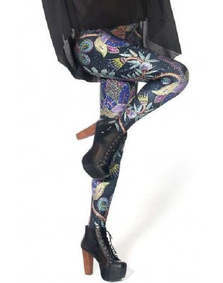 Leggings Mosaique fleurie