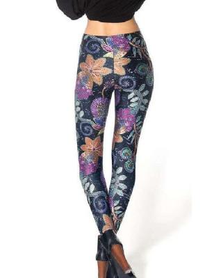 Leggings Mosaique fleurie