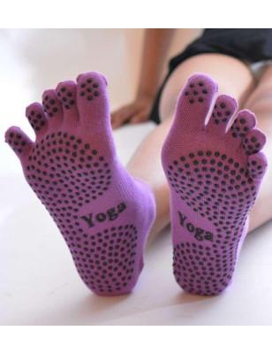 Chaussettes De Yoga à doigts de pieds