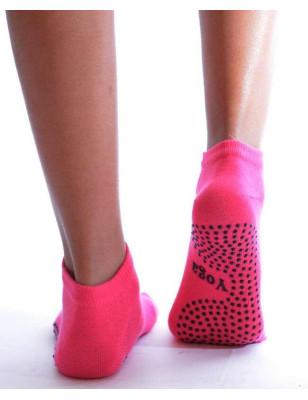 Chaussettes De Yoga à doigts de pieds rose