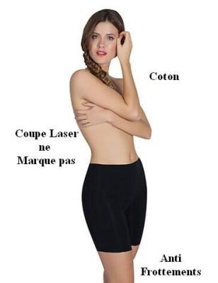 Boxer coton  Laser anti-frottements