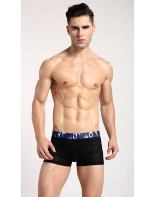 Boxer Maille Sport  Tommy Dooyao noir face