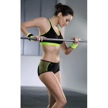 Ensemble sport Anita Active cross fit lime