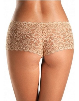 Shorty Hanro moments dentelle peau