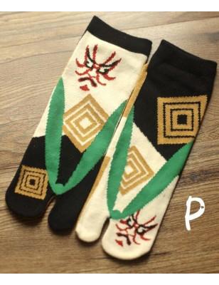 chaussettes japonaises fantomes homme