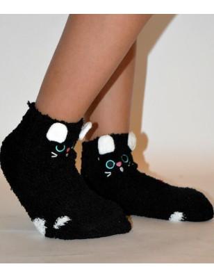 Chausson polaire enfants petit chaton