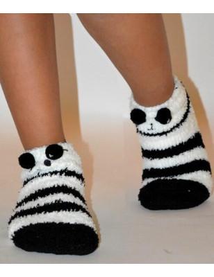 Chausson polaire enfants petit panda