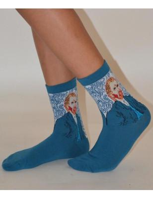 Duo de chaussettes Asymétriques D'art Van Gogh