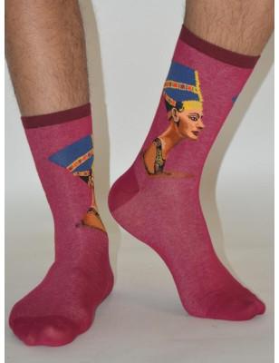 chaussettes oeuvre célébre Nefertiti