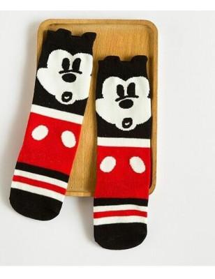 chaussettes coton Mickey rigolo