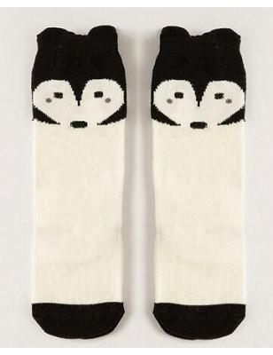 Chaussettes chaussons renard enfants