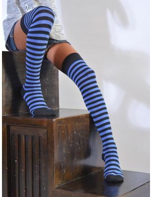 Jambière Rayures bleu jeans enfants