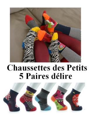 Coffret de chaussettes Layette Berthe aux grands pieds