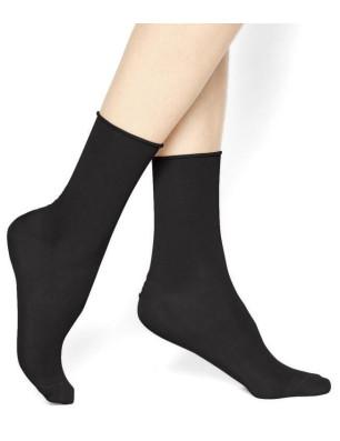 Chaussettes Hudson Relax Coton noires