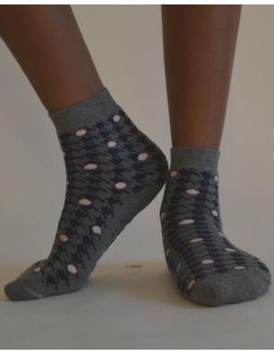 Chaussons Anti dérapante pieds de poule