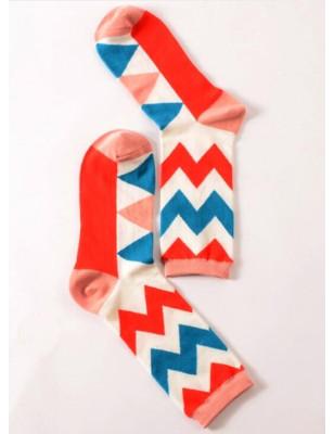 Chaussettes coton LPC contemporain stries