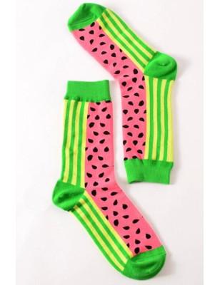 chaussettes Pastéques délires