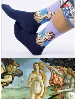 Chaussettes Lpc Venus de Botticelli