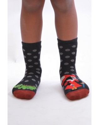 Chaussettes chausson Pirate et corcodile