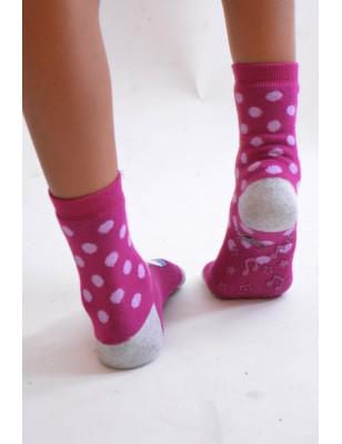Chaussettes chausson alice au pays des merveille
