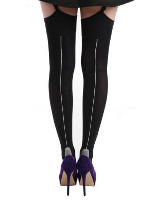 Bas PJ Pamela Mann Couture noir couture chair