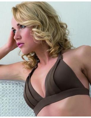 Empreinte Bikini Allure triangle armature sepia