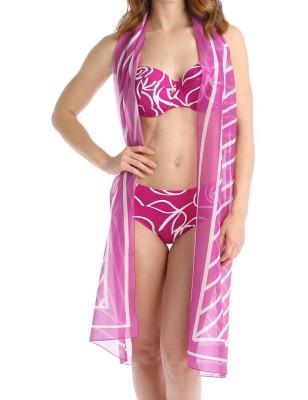 Bikini classique Empreinte Bloom Orchidée