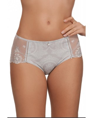 Shorty Empreinte Lily Rose Gris