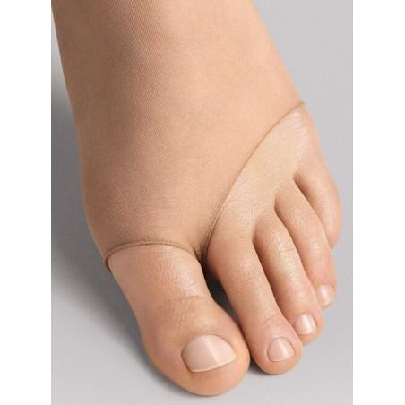 collant Sandales luxe Wolford détail effet sandales