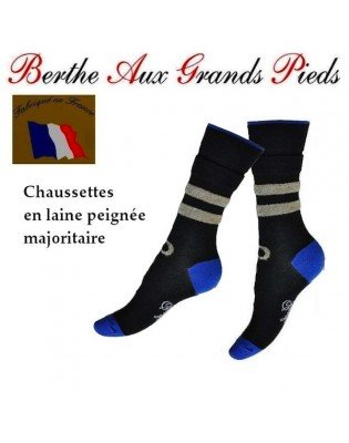 Chaussettes rayures noeud papillons
