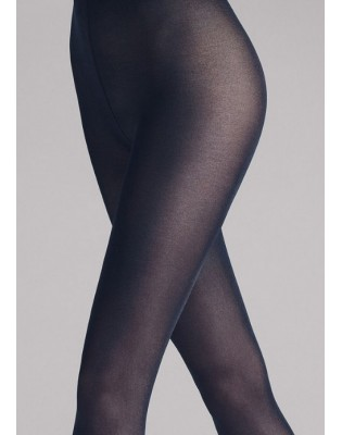 Collant Wolford satin Opaque admiral