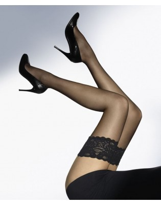 Bas up Wolford satin touch 20