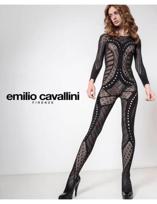 Collant Combianison Emilio Cavllini Dentelle baroque
