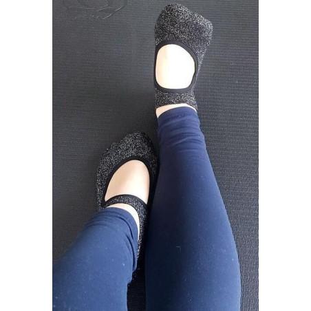 Chaussettes De yoga Anti dérapante
