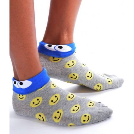 Chaussettes D'halloween smileys rigolos