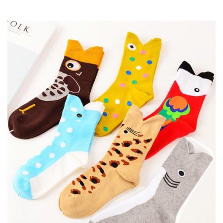 Coffret de chaussettes z'animaux