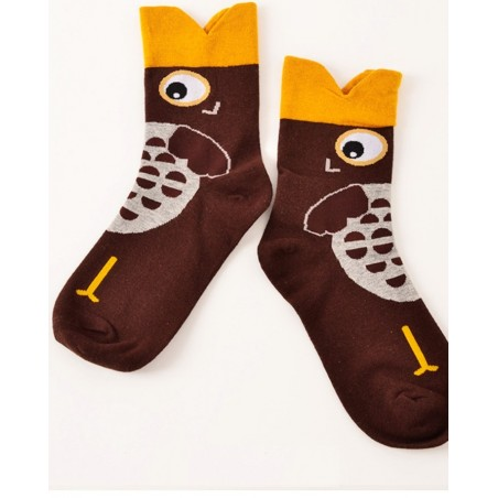 chaussettes Chouette