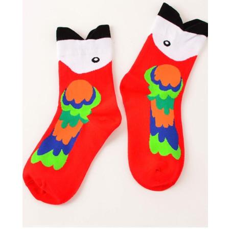 chaussettes perroquet