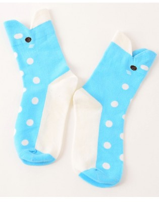 chaussettes dauphin
