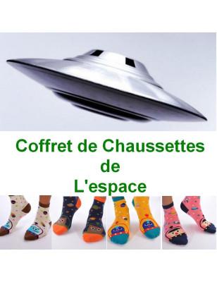 Coffret de Socquettes de L'espace